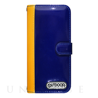 OUTDOOR(アウトドア) 【iPhone6s/6 ケース】OUTDOOR Diary BluexYellow for iPhone6s/6