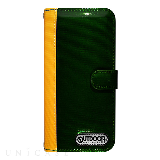 【限定】【iPhone6s/6 ケース】OUTDOOR Diary GreenxYellow for iPhone6s/6