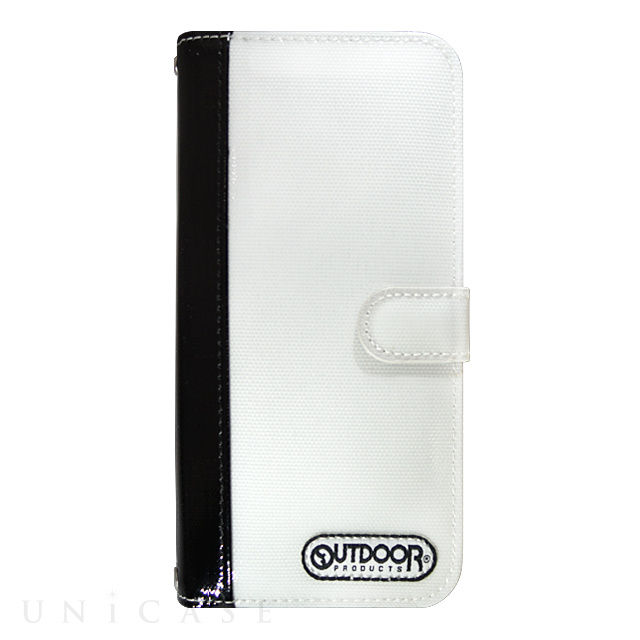 【限定】【iPhone6s/6 ケース】OUTDOOR Diary WhitexBlack for iPhone6s/6