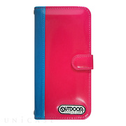 【iPhone6s/6 ケース】OUTDOOR Diary PinkxAqua for iPhone6s/6