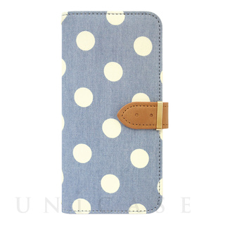 【限定】【iPhone6s/6 ケース】Denim Diary Dot White
