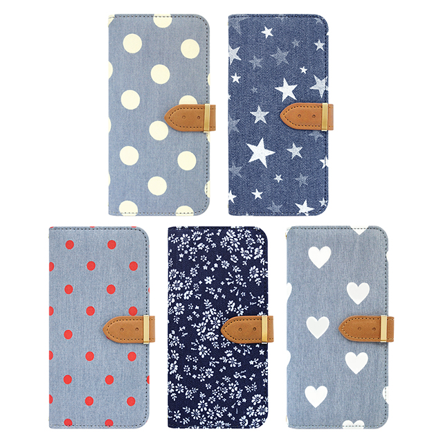 【iPhone6s/6 ケース】Denim Diary Dot White for iPhone6s/6サブ画像