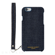 【iPhone6s/6 ケース】KATHARINE HAMNETT LONDON Fabric Case (Denim)