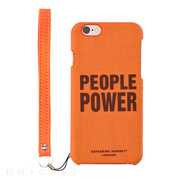 【iPhone6s/6 ケース】KATHARINE HAMNETT LONDON Fabric Case (PEOPLE POWER)