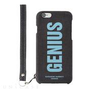 2ed76818b8 【iPhone6s/6 ケース】KATHARINE HAMNETT LONDON Fabric Case (GENIUS)