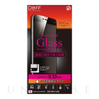 【iPhone6s/6 フィルム】High Grade Glass Screen Protector Full Front 0.33mm のぞき見防止 (Black)