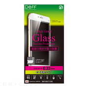 【iPhone6s Plus/6 Plus フィルム】High Grade Glass Screen Protector Full Front 0.33mm スタンダード (White)