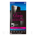 【iPhone6s Plus/6 Plus フィルム】High Grade Glass Screen Protector Full Front 0.33mm ブルーライトカット (Black)