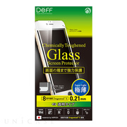 【iPhone6s Plus/6 Plus フィルム】Chemically Toughened Glass Screen Protector Dragontrail X Full Front 0.21mm (White)