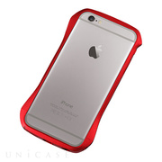 【iPhone6s Plus/6 Plus ケース】CLEAVE Aluminum Bumper (Flare Red)