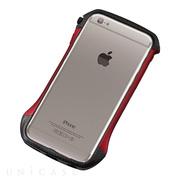 【iPhone6s/6 ケース】CLEAVE Hybrid Bumper (Carbon&Red)