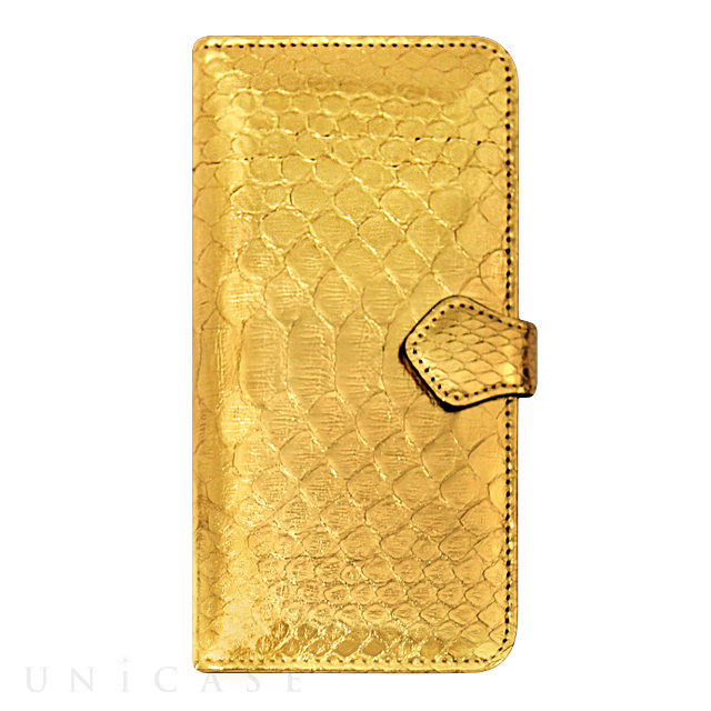 【iPhone6s/6 ケース】PYTHON Diary Gold for iPhone6s/6
