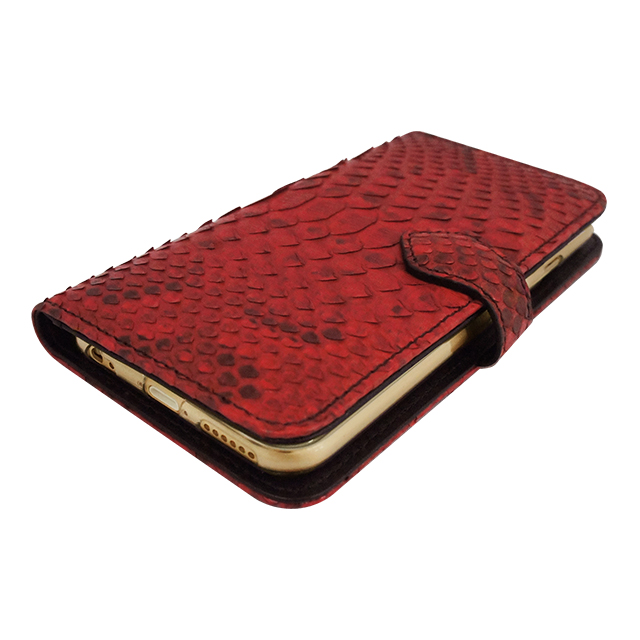 【iPhone6s/6 ケース】PYTHON Diary Red for iPhone6s/6サブ画像