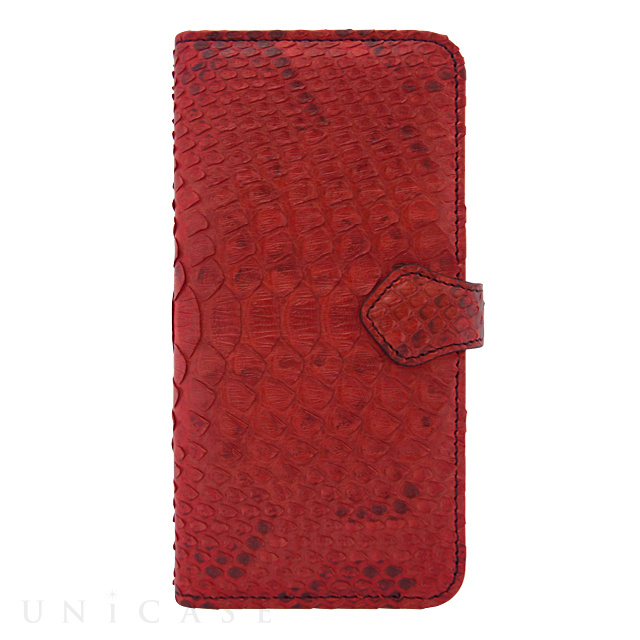 【iPhone6s/6 ケース】PYTHON Diary Red for iPhone6s/6