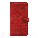 【iPhone6s Plus/6 Plus ケース】PYTHON Diary Red for iPhone6s Plus/6 Plus