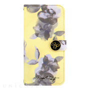 【iPhone6s/6 ケース】ROYAL PARTY Diary Water Flower YE for iPhone6s/6