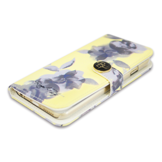 【iPhone6s/6 ケース 手帳型】ROYAL PARTY Diary Water Flower YE for iPhone6s/6サブ画像