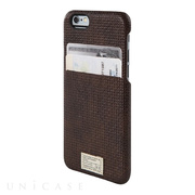 【iPhone6s/6 ケース】SOLO WALLET (BROWN WOVEN LEATHER)