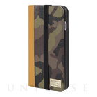 【iPhone6s Plus/6 Plus ケース】ICON WALLET (CAMO LEATHER)