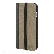 【iPhone6s Plus/6 Plus ケース】ICON WALLET (KHAKI CANVAS)