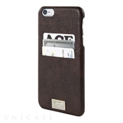 【iPhone6s Plus/6 Plus ケース】SOLO WALLET (BROWN WOVEN LEATHER)