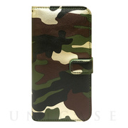 【iPhone6s/6 ケース】CAMO Diary Green for iPhone6s/6