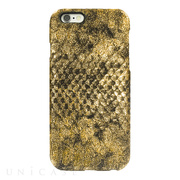 【iPhone6s/6 ケース】PYTHON PU LEATHER Gold for iPhone6s/6
