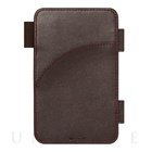 SYSTEM専用オプション Memo Pad (DARK BROWN)