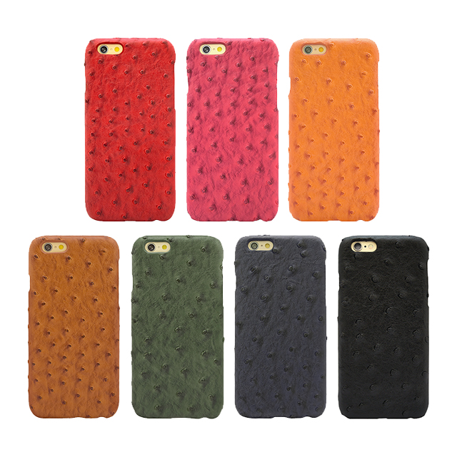 【iPhone6s/6 ケース】OSTRICH PU LEATHER Darkgreen for iPhone6s/6サブ画像