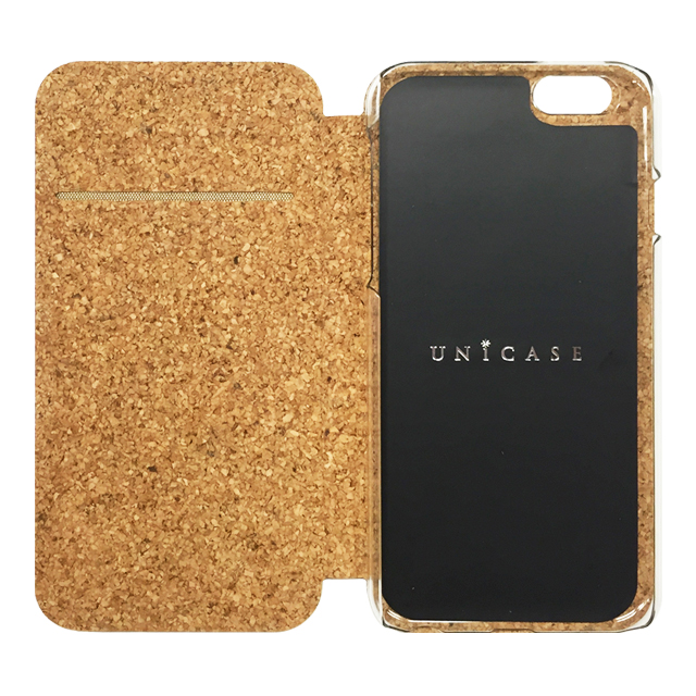 【iPhone6s/6 ケース】Wood Diary Check Black for iPhone6s/6サブ画像
