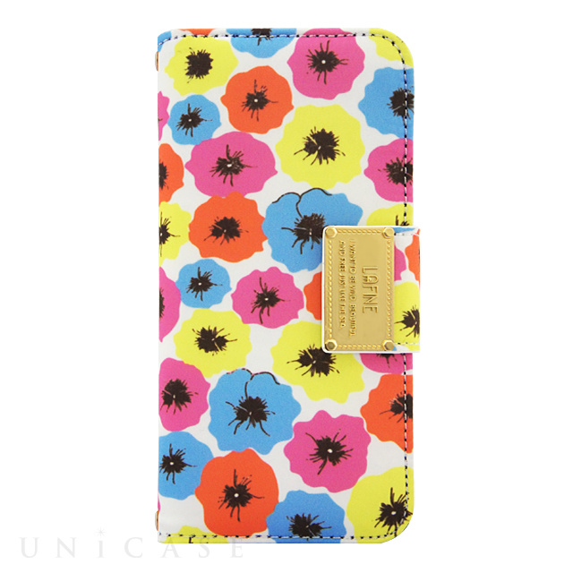 【iPhone6s/6 ケース】LAFINE Diary Pansy for iPhone6s/6