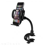 Car Dashboard Mount Holder Mobile CLIP-ON BEND MOUNT (Casino Black)
