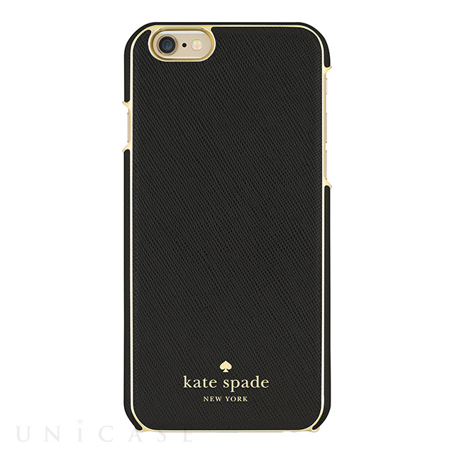 【iPhone6s/6 ケース】Wrapped Case (Saffiano Black)