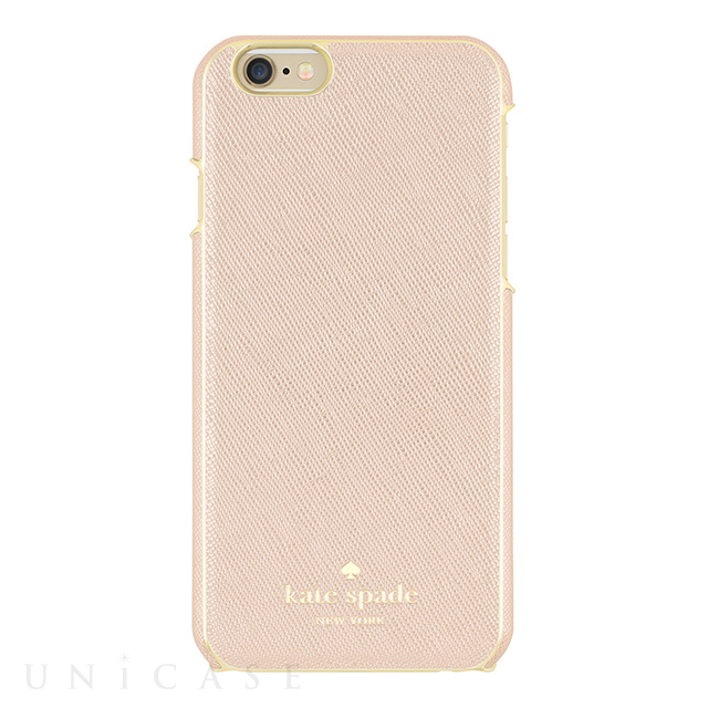 【iPhone6s/6 ケース】Wrapped Case (Saffiano Rose Gold)