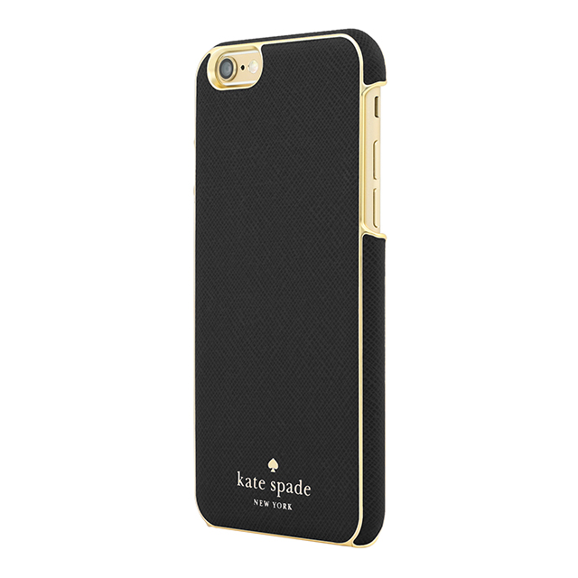【iPhone6s/6 ケース】Wrapped Case (Saffiano Black)サブ画像