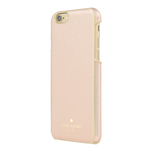 【iPhone6s/6 ケース】Wrapped Case (Saffiano Rose Gold)サブ画像