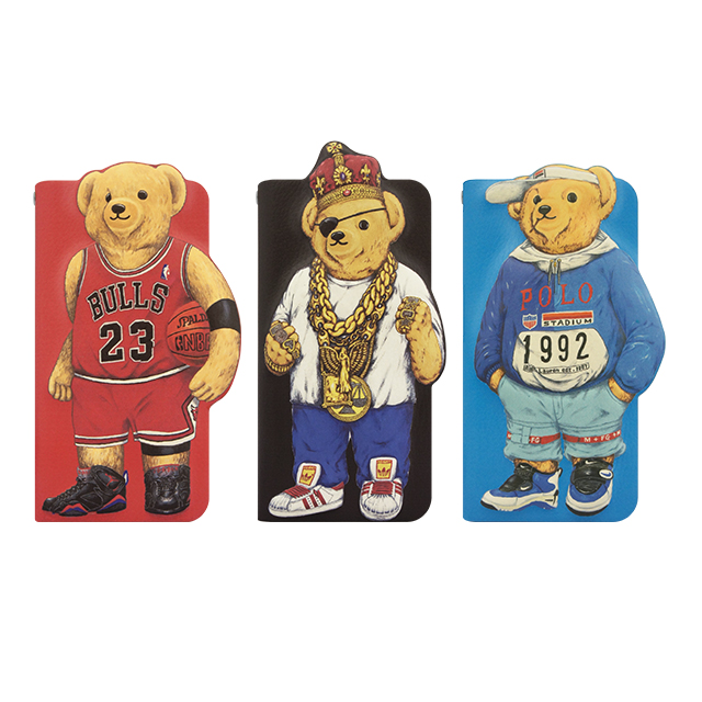 【iPhone6s/6 ケース】INTERBREED Diary MJ Bear for iPhone6s/6サブ画像