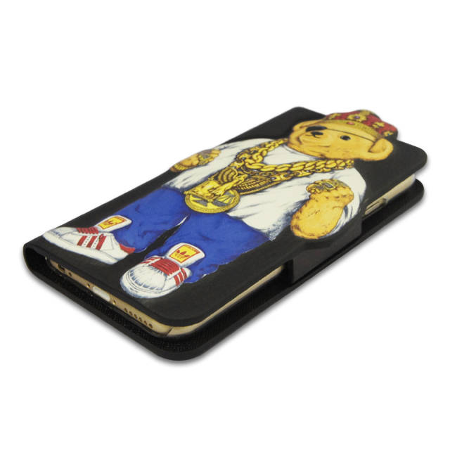 【iPhone6s/6 ケース】INTERBREED Diary Slick Bear for iPhone6s/6サブ画像