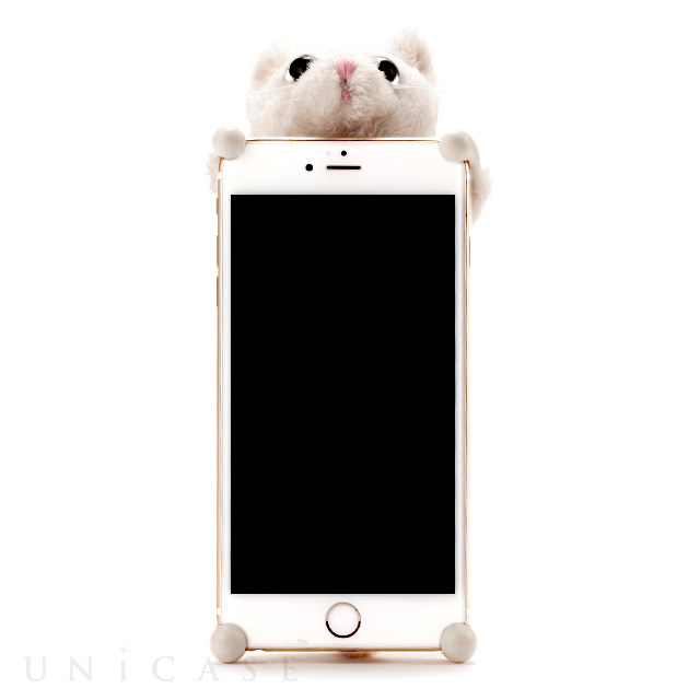 iphone8 plus 7 plus 6s plus 6 plus ケース zoopy home ネコ シロ