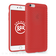 【iPhone6s Plus/6 Plus ケース】Mesh Case (Red)
