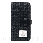 【iPhone6s Plus/6 Plus ケース】Harris Tweed Diary (ブラック)