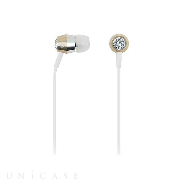 Earbuds (Crystal/Gold/Silver/White)