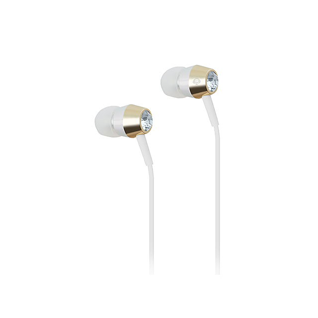 Earbuds (Crystal/Gold/Silver/White)サブ画像