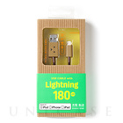 【Lightningケーブル MFi取得】DANBOARD USB Cable with Lightning connector (180cm)