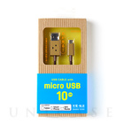 【MicroUSBケーブル】DANBOARD USB Cable with micro USB connector (10cm)