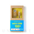 【MicroUSBケーブル】DANBOARD USB Cable with micro USB connector (100cm)