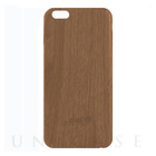 【iPhone6s/6 ケース】Skinny Soft Case TIMBER (Dark Wood)