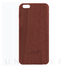 【iPhone6s/6 ケース】Skinny Soft Case TIMBER (Red Wood)