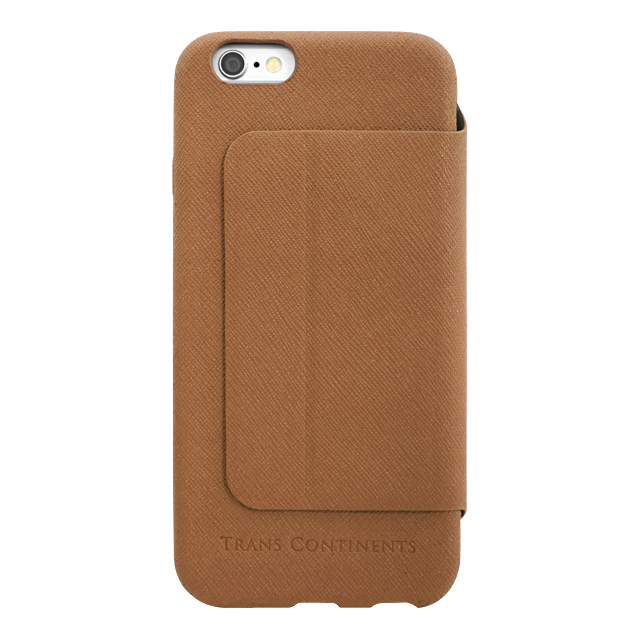 【iPhone6s/6 ケース】TRANS CONTINENTS Diary Brown for iPhone6s/6サブ画像