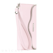 【iPhone6s/6 ケース】REBECCAMINKOFF Leather Folio Wristlet (Pale Pink)